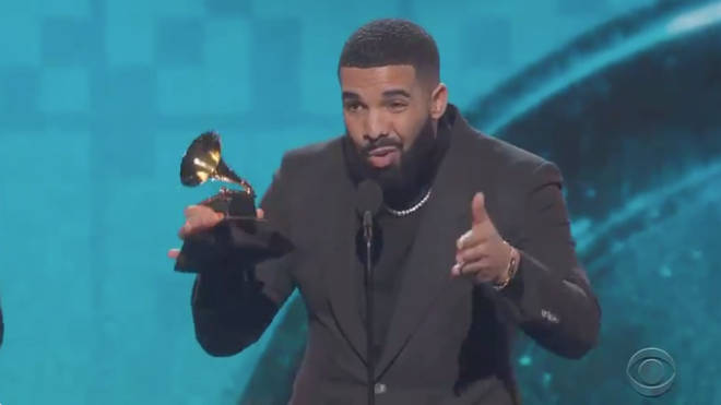 Drake disses The Grammys in acceptance speech for Best Rap Song