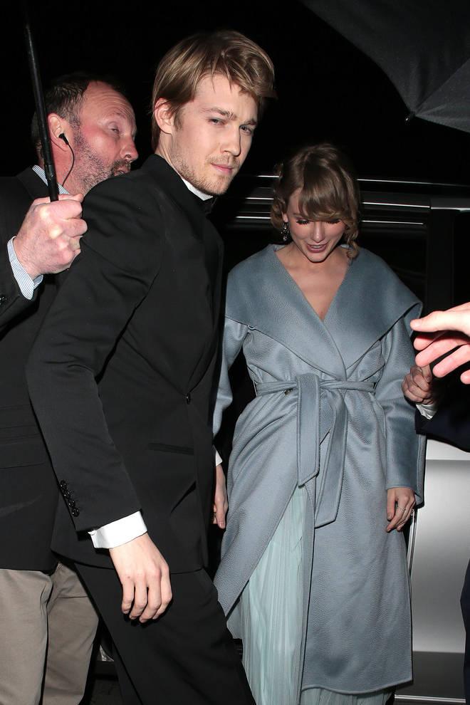 Taylor Swift attended the 2019 BAFTAs with Joe Alwyn