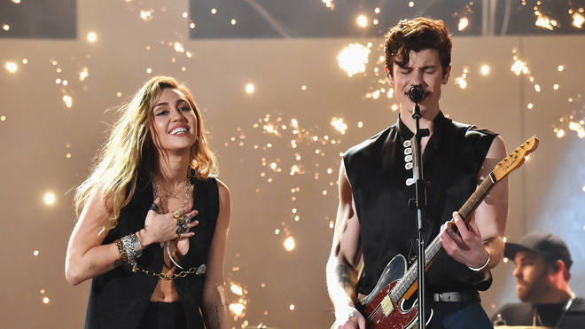 Miley Cyrus and Shawn Mendes performed this stunning duet.