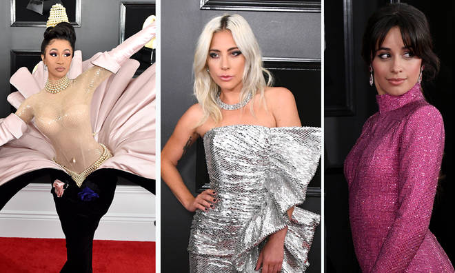 Cardi B, Kylie Jenner & Dua Lipa rocked the GRAMMY 2019 red carpet