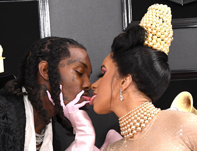 Cardi B and Offset were loved up at the 2019 Grammys