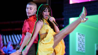 Camila Cabello performed at the 2019 GRAMMY Awards