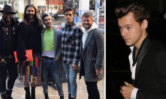 Harry Styles and the Queer Eye cast have been hanging out in Japan