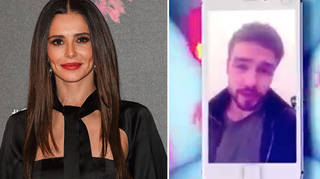 Cheryl didn't look happy when Liam Payne called her during The Greatest Dancer