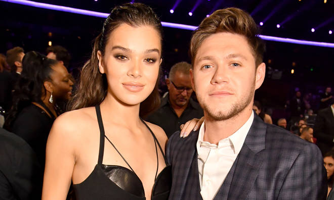 Niall Horan and Hailee Steinfield attended the same Grammys after party on Sunday night