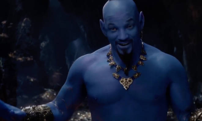 Will Smith as the Genie in Aladdin has some Disney fans scared.