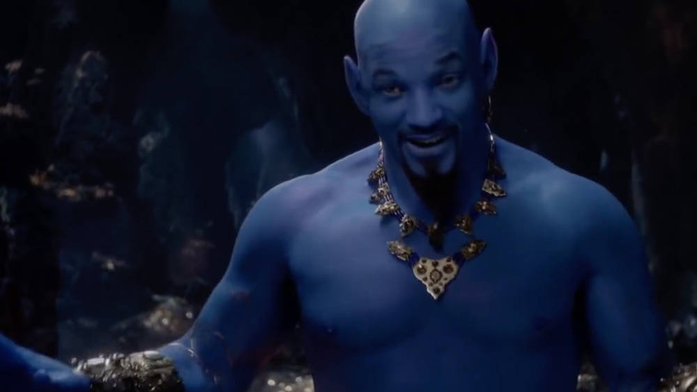 Movie Poster 2019: Aladdin 2019: New Trailer With Will Smith As The Genie Is