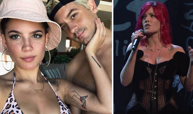 Halsey went in on the rapper during her SNL performance.