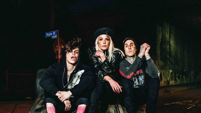 Yungblud, Halsey and Travis Barker have teamed up for '11 Minutes'.
