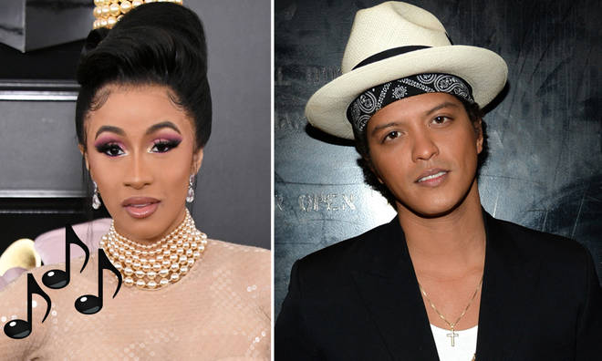 Cardi B and Bruno Mars are releasing a new track on Friday
