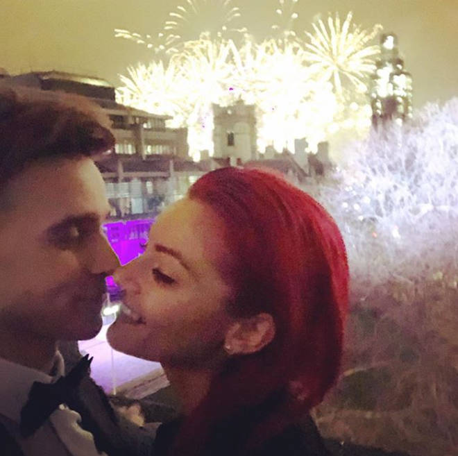 Joe Sugg and Dianne Buswell were accused of annoying the cast with the PDAs.