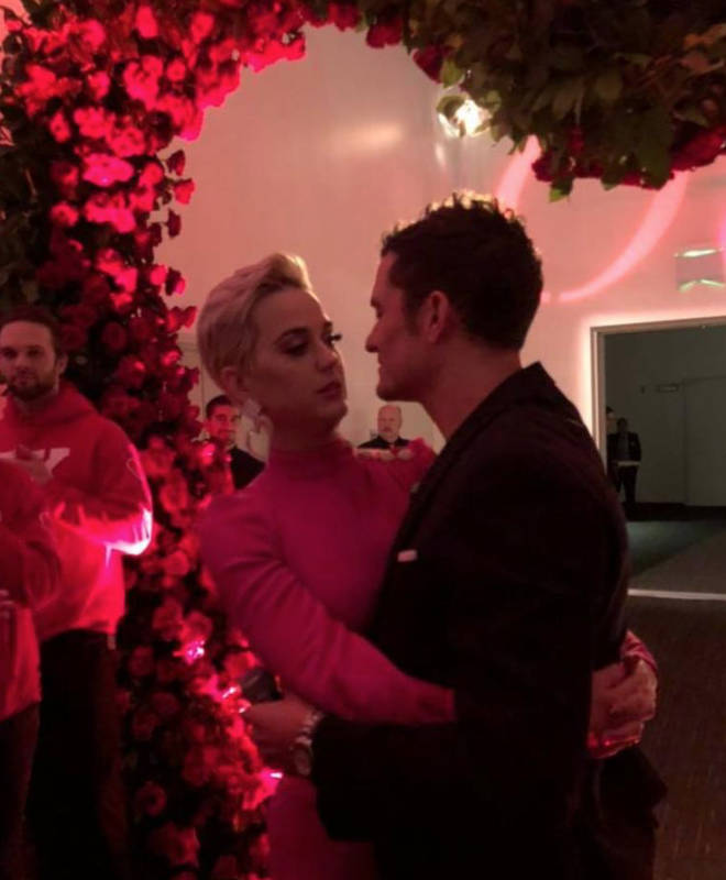Orlando Bloom proposed to Katy Perry on Valentine's Day