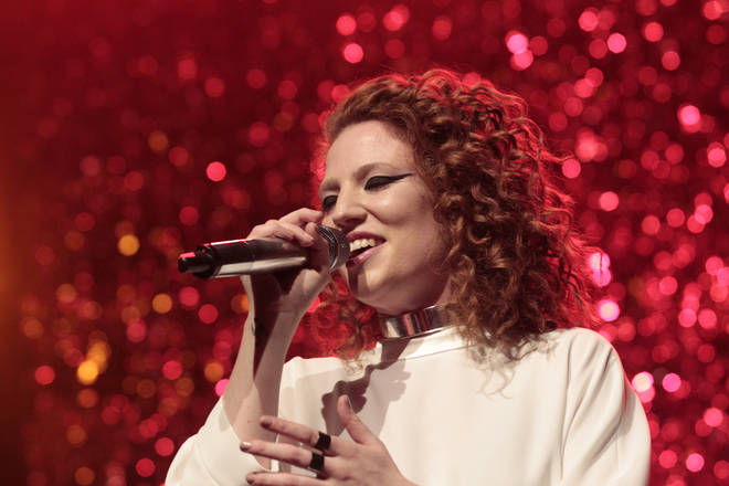 Jess Glynne is hoping to bag the BRIT for British Female Solo Artist