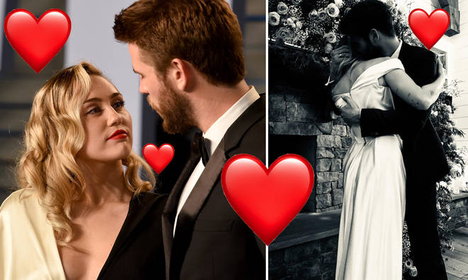 Miley Cyrus and Liam Hemsworth married before Christmas last year