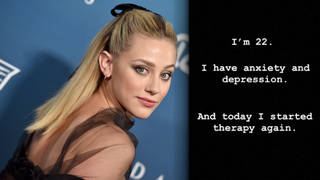 Lili Reinhart confirmed her return to therapy on her Instagram Story