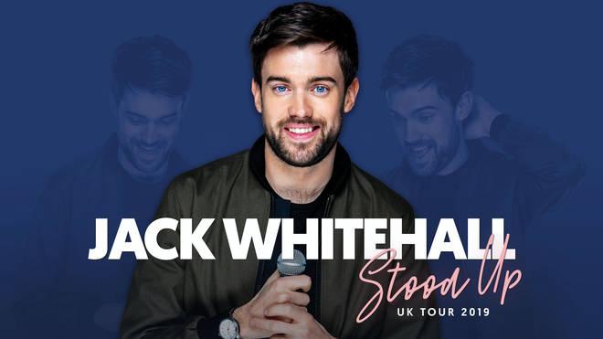 Jack Whitehall 'Stood Up' tour 2019