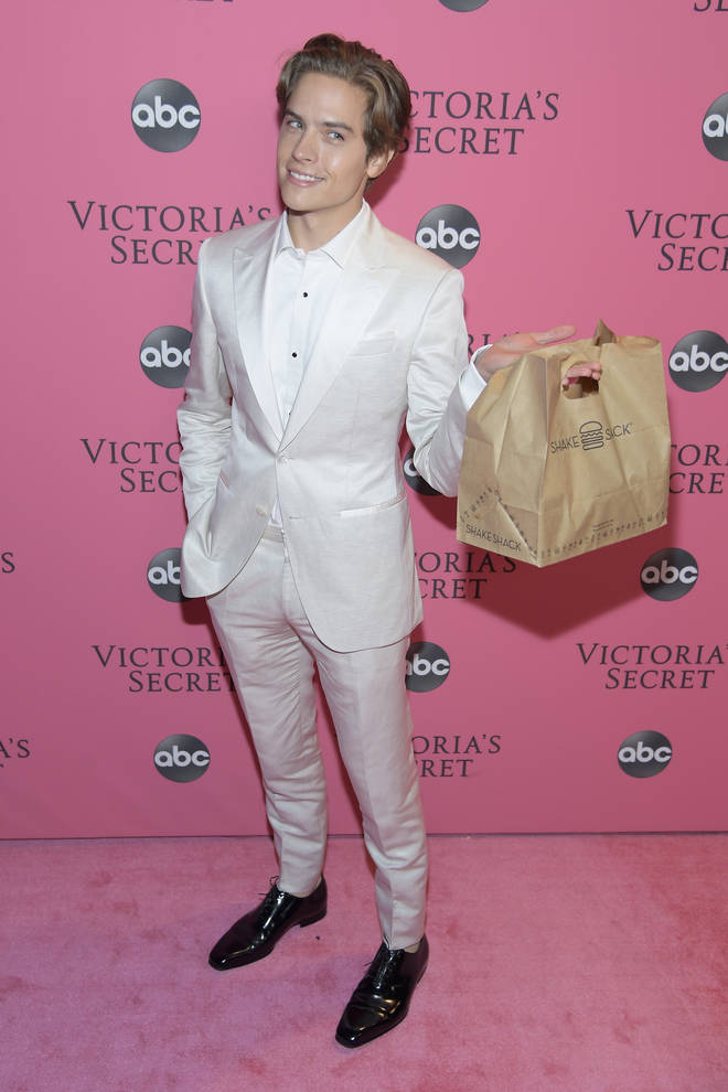 Dylan Sprouse brought his girlfriend Shake Shack after the Victoria's Secret Fashion Show