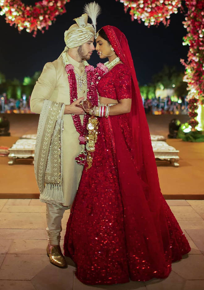 Priyanka and Nick had two weddings that encompassed both their heritage and cultures