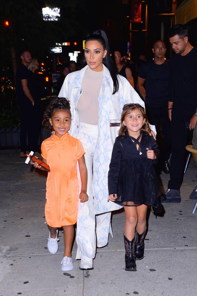 Kim Kardashian's daughter North is best friends with Penelope Disick