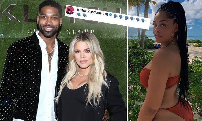 Khloe Kardashian addressed the Tristan Thompson and Jordyn Woods rumours on Instagram