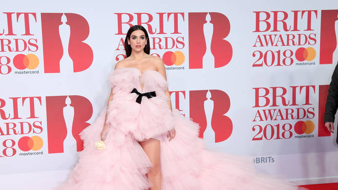 Dua Lipa will be performing with Calvin Harris at the BRITs tonight