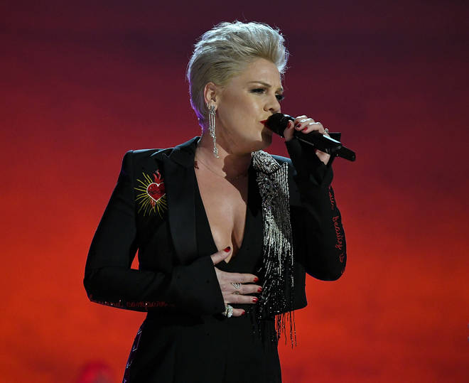 P!nk is set to receive the Outstanding Contribution award at tonight's BRITs
