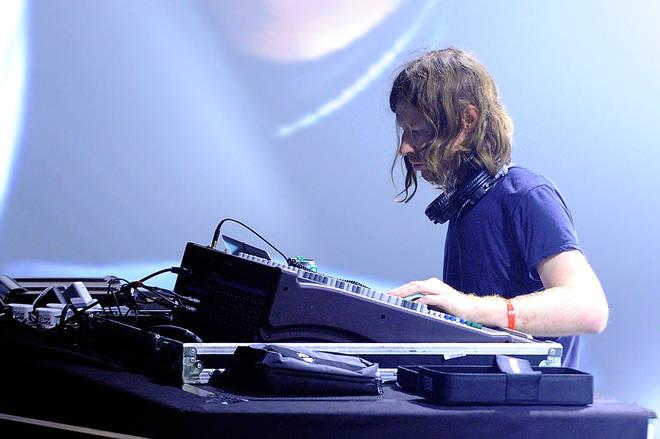 Aphex Twin at Pitchfork Music Festival Paris in 2011