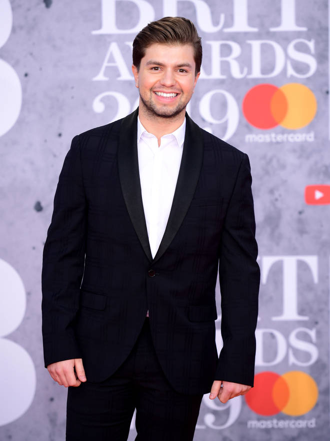 Sonny Jay has arrived on the BRITs red carpet looking super smart