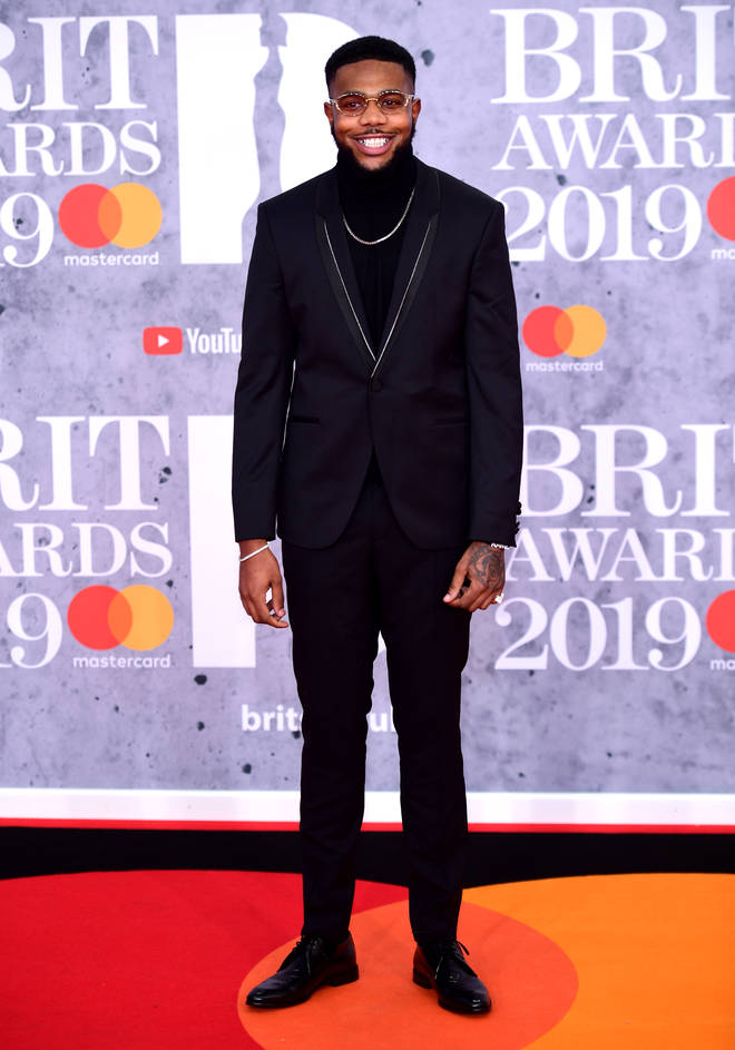 Ramz is here at the 2019 BRITs for the first time