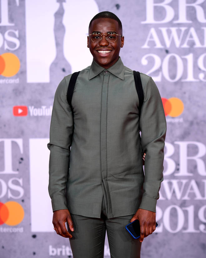Sex Education's Ncuti Gatwa has stepped out onto the 2019 BRITs red carpet