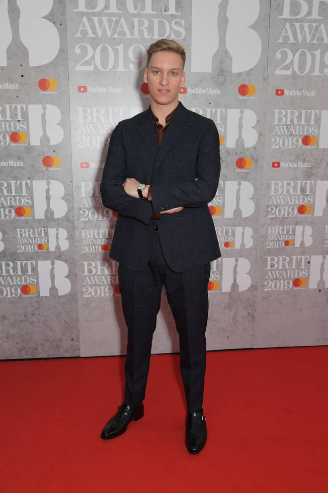 George Ezra arrives at the BRIT Awards 2019