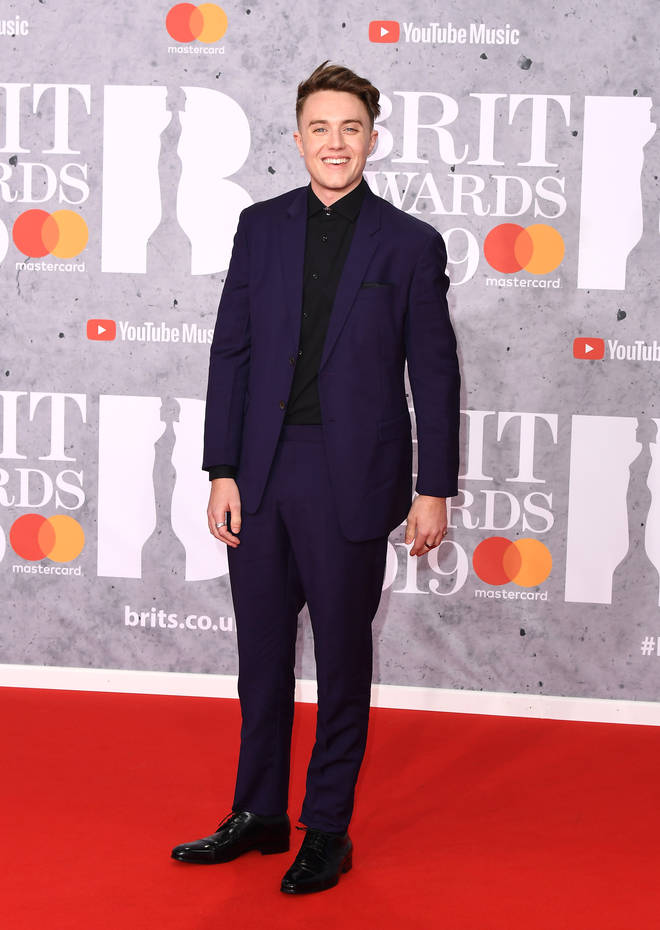 Roman Kemp shows out to the 2019 BRITs