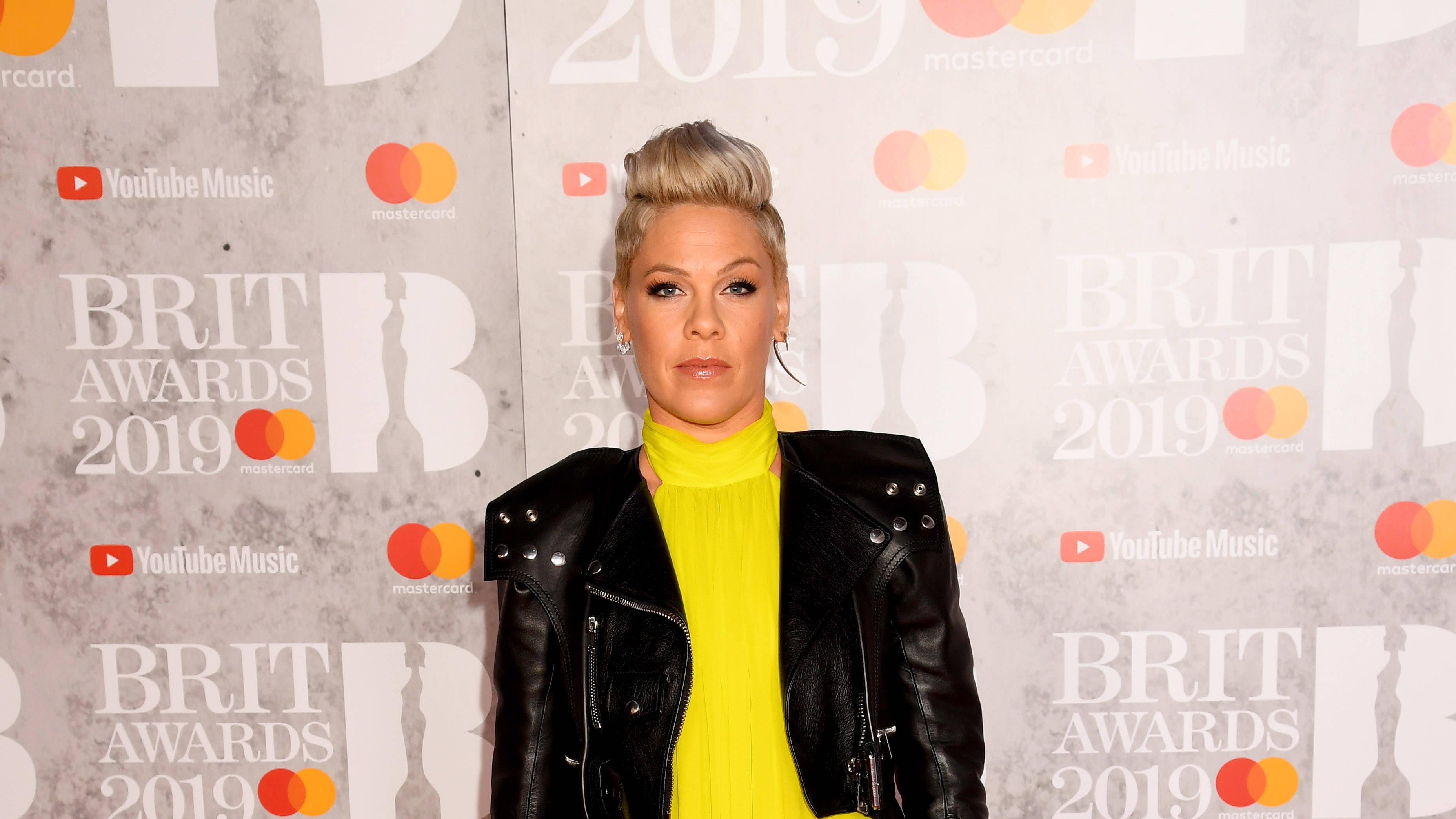 Pink Explains Her 'Walk Me Home' Lyrics On The BRITs 2019