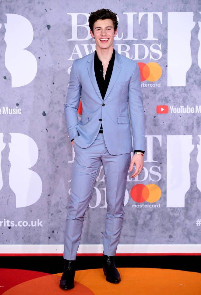 Shawn Mendes rocks his first ever BRITs 2019 red carpet