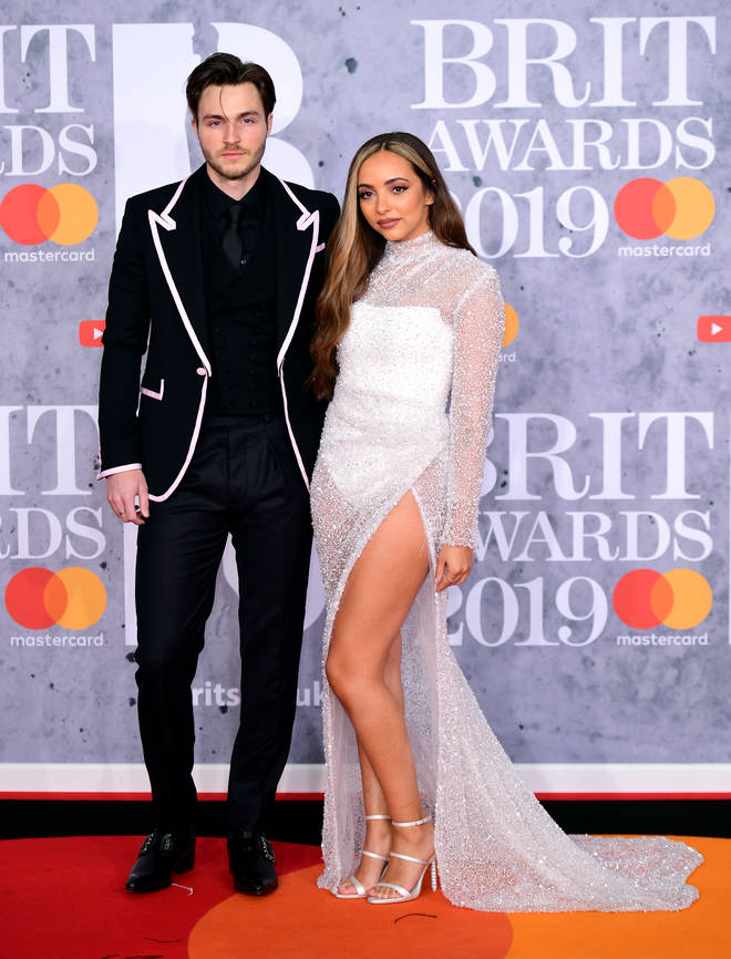 Jade Thirwall joined by boyfriend Jed Elliott of The Struts