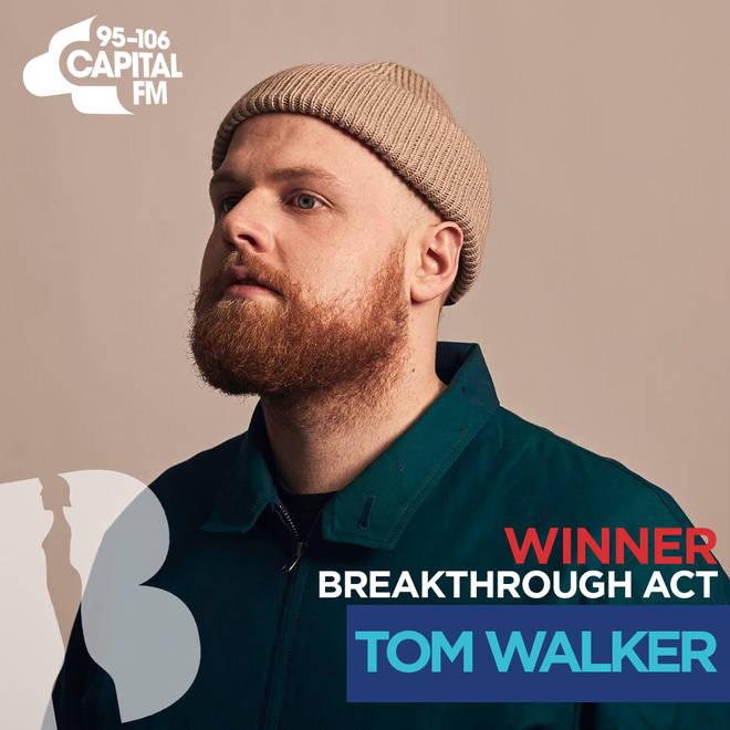 BRITs 2019 Breakthrough Act winner - Tom Walker