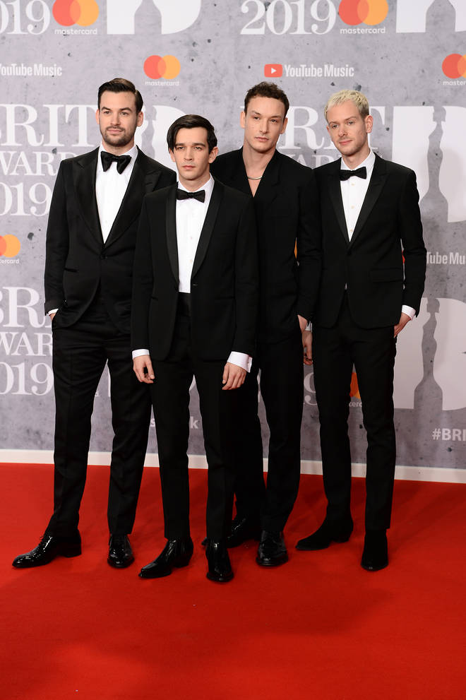 The 1975 scooped British Group at the BRIT Awards 2019
