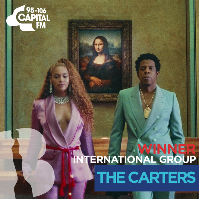 BRITs 2019 International Group winners - The Carters