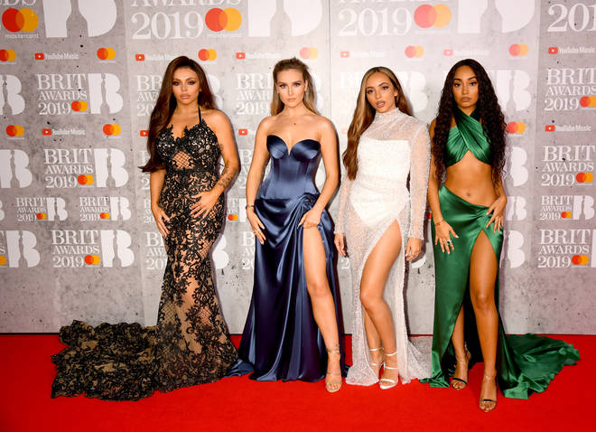 Little Mix looked stunning on The BRITs red carpet.