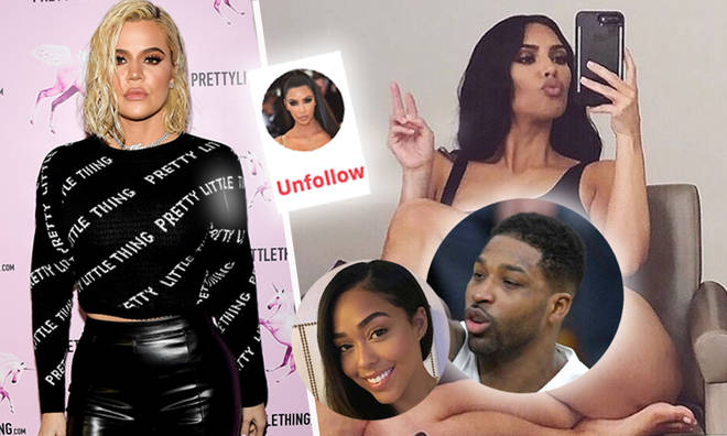 Kim Kardashian unfollows 'terrible people' Jordyn Woods and Tristan Thompson