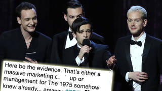 The 1975's BRITs wins were leaked ahead of time.