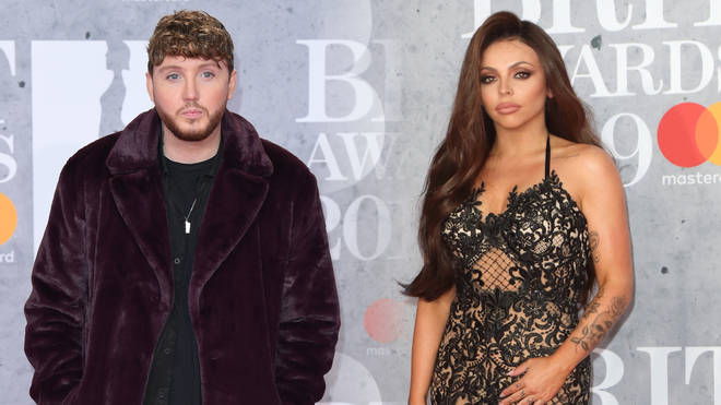James Arthur denied kissing Jesy Nelson at the BRITs