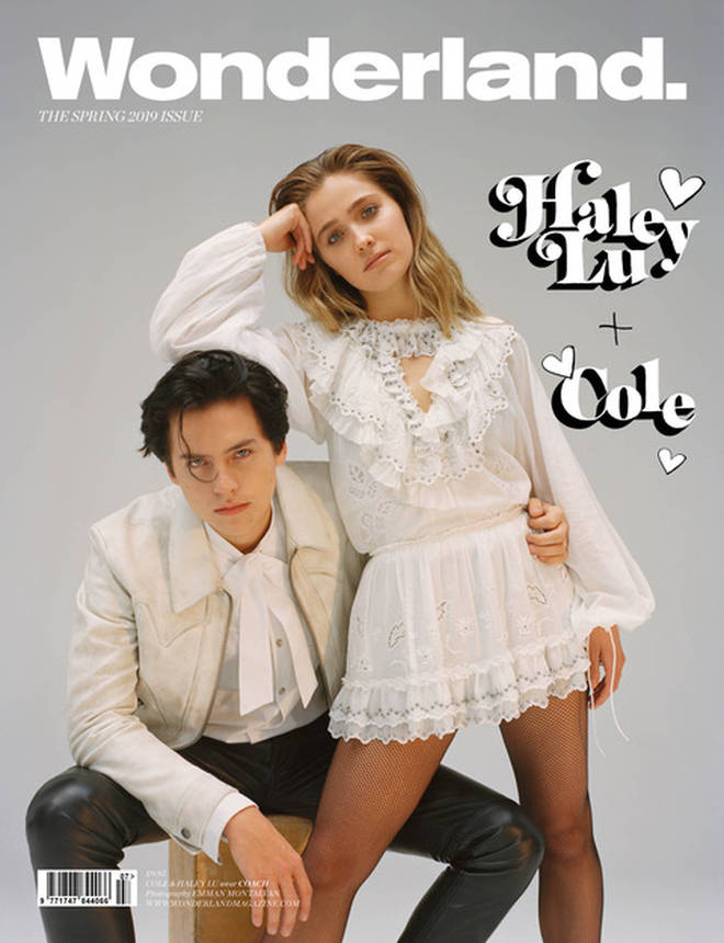 Cole Sprouse and Hayley Lu Richardson are on the cover of Wonderland magazine.