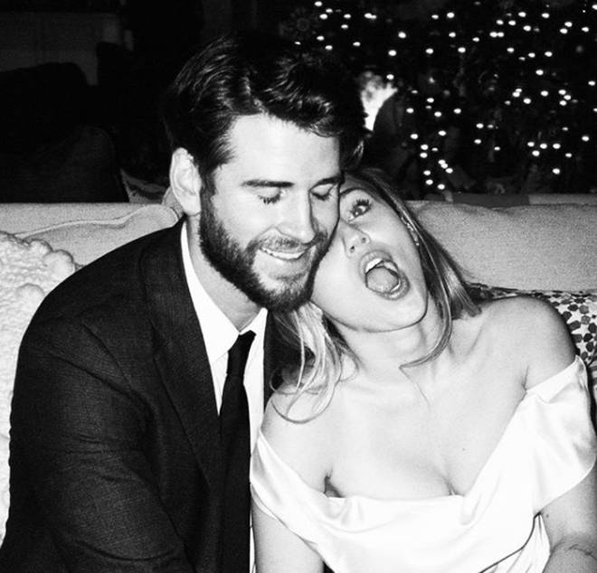 "Miley Cyrus revealed she and Liam Hemsworth are ""redefining"" their relationship."