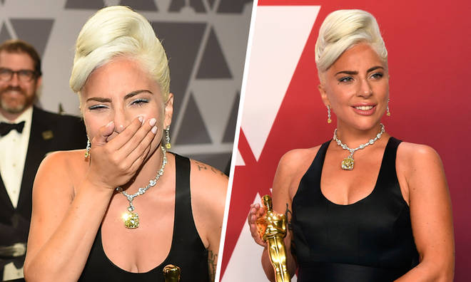 Lady Gaga becomes first woman in history to win an Oscar, Grammy, BAFTA and Golden Globe in same year