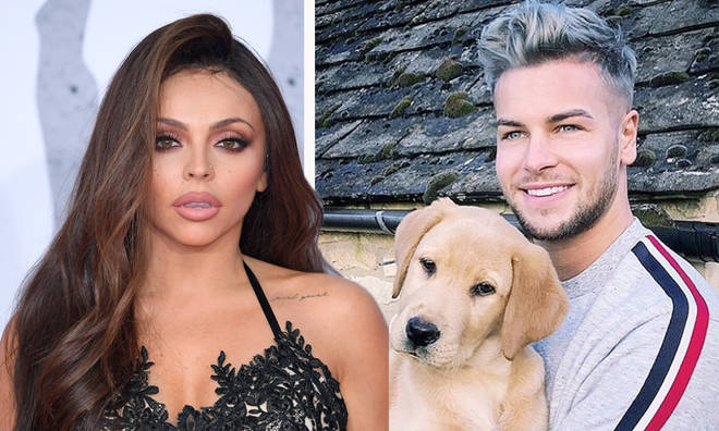 Jesy Nelson and Chris Hughes pictured loved up at airport ahead of Dublin trip