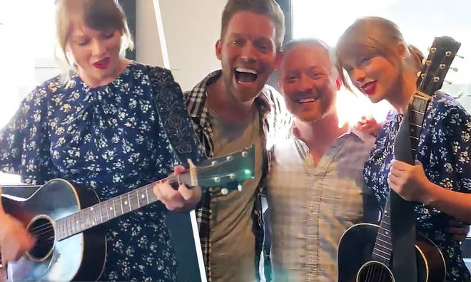 Taylor Swift surprised a couple at their engagement party