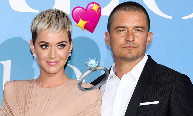 Katy Perry revealed Orlando Bloom proposed during a helicopter ride