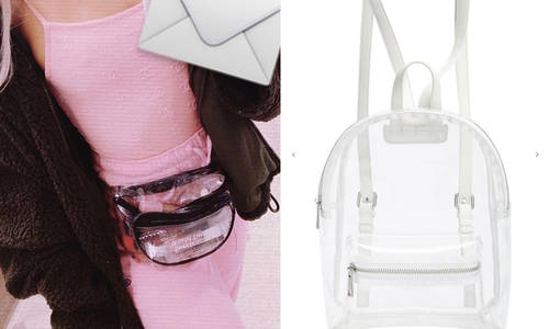 3234494f158 5 Clear Bags On A Budget For Ariana Grande's Sweetener Tour UK - Capital