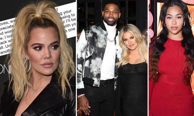Khloe Kardashian shared a heartfelt statement on Twitter